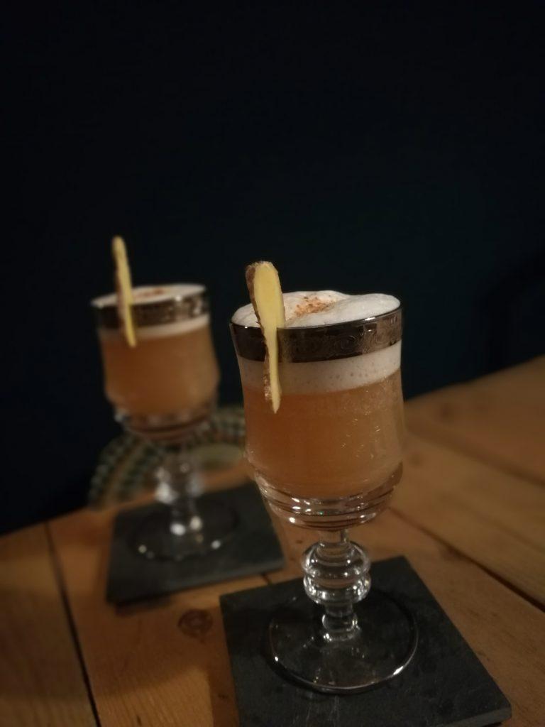 Mocktail ginger-espelette fizz